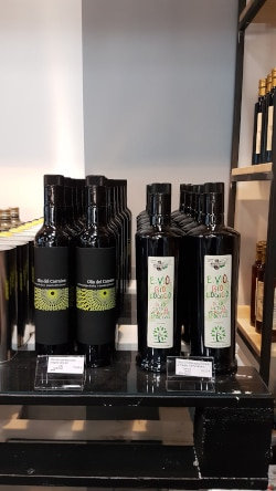 huiles d'olives bio de marque bigucci