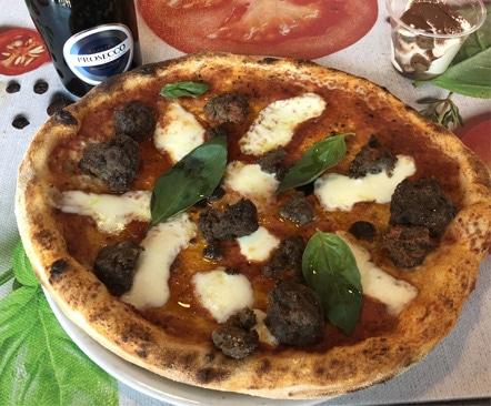 la véritable pizza napolitaine de POMODORO